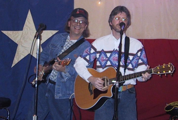 Joe and Clay Jones at the Lone Star Cafe in Dallas