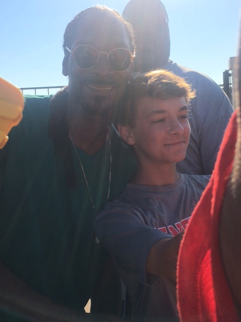 Snoop and Jaden