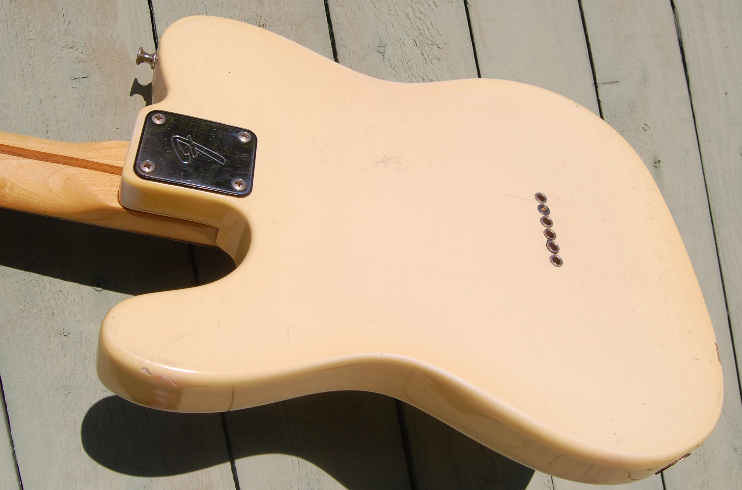 1978 Tele back and side