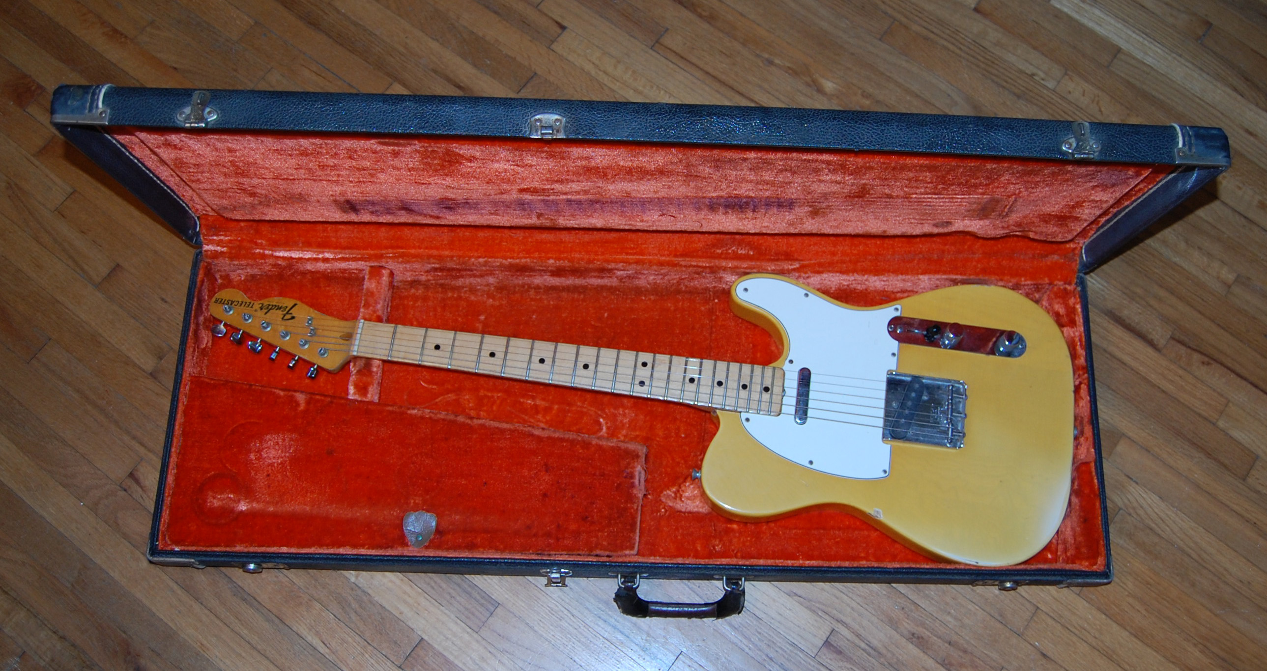 1972 tele in case