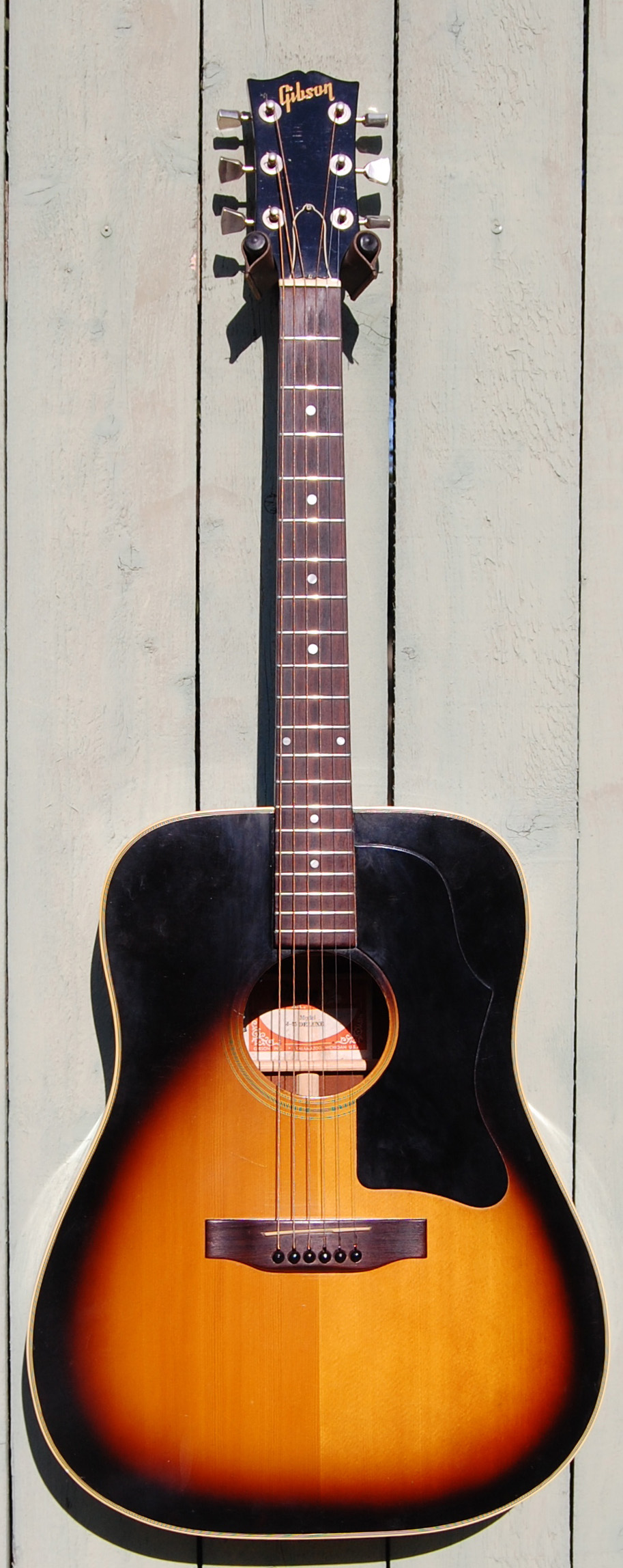 1978 Gibson J45 Deluxe SOLD