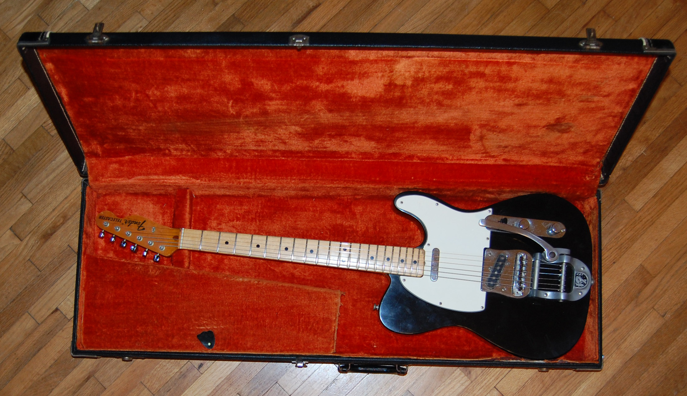 1971 tele in case